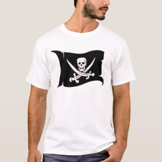 Waving Flag #10 Jack Rackham T-Shirt