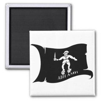Waving Flag #14 Bart Roberts 1 2 Inch Square Magnet