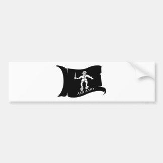 Waving Flag #14 Bart Roberts 1 Bumper Sticker