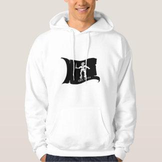 Waving Flag #14 Bart Roberts 1 Hooded Sweatshirt