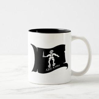 Waving Flag #14 Bart Roberts 1 Two-Tone Coffee Mug