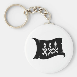 Waving Flag #2 Christopher Condent Keychain
