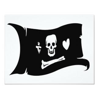 Waving Flag  #3 Stede Bonnet Card