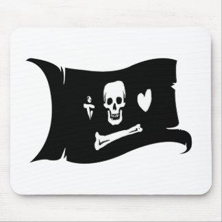 Waving Flag  #3 Stede Bonnet Mouse Pad