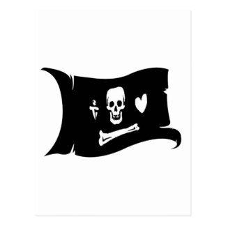 Waving Flag  #3 Stede Bonnet Postcard