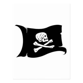 Waving Flag #5 Henry Every Postcard