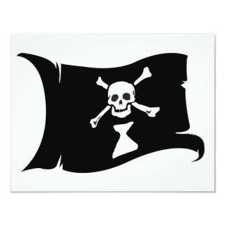 Waving Flag #9 Frederick Gwynne 4.25x5.5 Paper Invitation Card