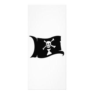 Waving Flag #9 Frederick Gwynne Rack Card