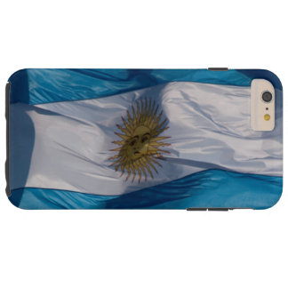 Waving Flag of Argentina Tough iPhone 6 Plus Case