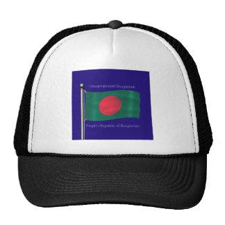 Waving flag of Bangladesh Trucker Hat