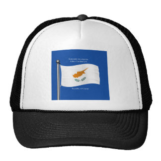Waving Flag of Cyprus Trucker Hat