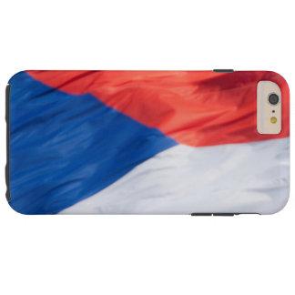Waving Flag of Czech Republic Tough iPhone 6 Plus Case
