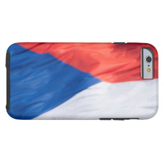 Waving Flag of Czech Republic Tough iPhone 6 Case