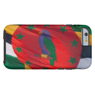 Waving Flag of Dominica Tough iPhone 6 Case