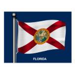 Waving Flag of Florida Postcards