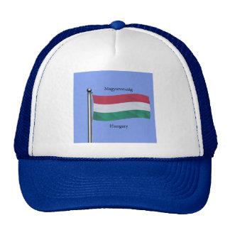 Waving Flag of Hungary Trucker Hat