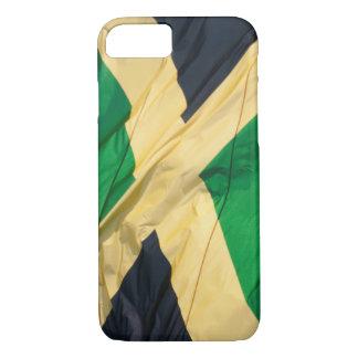 Waving Flag of Jamaica iPhone 7 Case