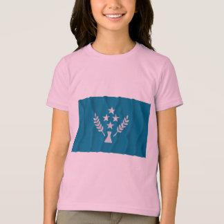 Waving flag of Kosrae T-Shirt