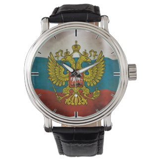 Waving flag of Russia Watch