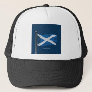 Waving Flag of Scotland Trucker Hat