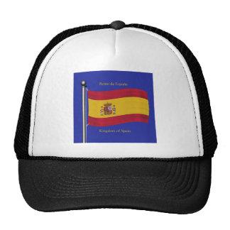 Waving Flag of Spain Trucker Hat
