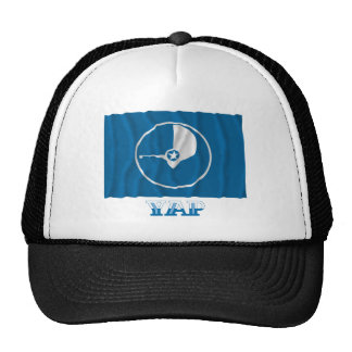 Waving flag of Yap, with name Trucker Hat