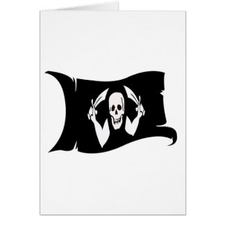 Waving Flag-Pirate Icon #4 Cards