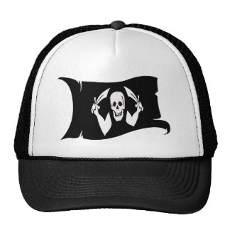 Waving Flag-Pirate Icon #4 Trucker Hat