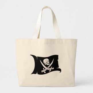 Waving Flag-Pirate Icon #6 Canvas Bags