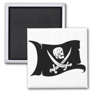 Waving Flag-Pirate Icon #6 Fridge Magnet
