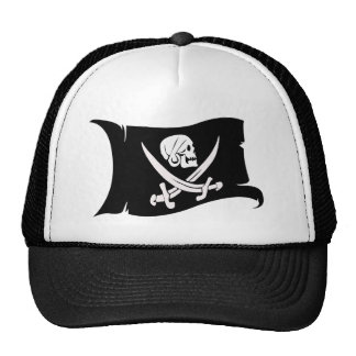 Waving Flag-Pirate Icon #6 Hats