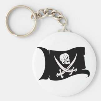 Waving Flag-Pirate Icon #6 Keychains
