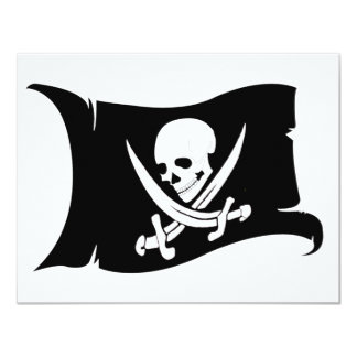 Waving Flag-Pirate Icon #7 Card