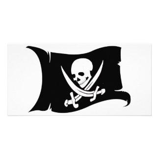 Waving Flag-Pirate Icon #7 Card