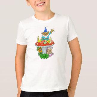 Waving Garden Gnome. T-Shirt