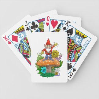 Waving Gnome.jpg Bicycle Playing Cards