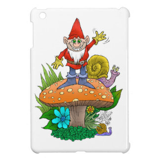 Waving Gnome.jpg Case For The iPad Mini