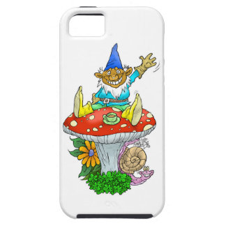 Waving gnome on a iphone5 cover. iPhone SE/5/5s case