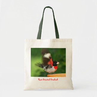 Waving Grosbeak Tote Bag
