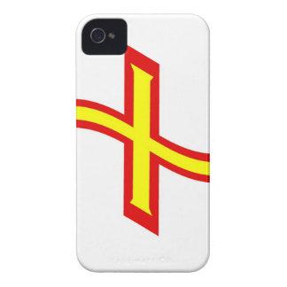 Waving Guernsey Flag iPhone 4 Case-Mate Case