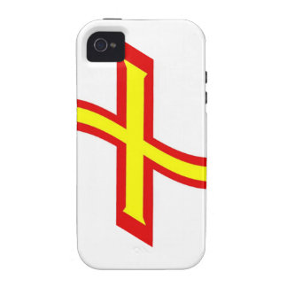 Waving Guernsey Flag iPhone 4 Cases