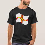 Waving Guernsey Flag T-Shirt