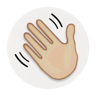 Goodbye Emoji Gifts on Zazzle