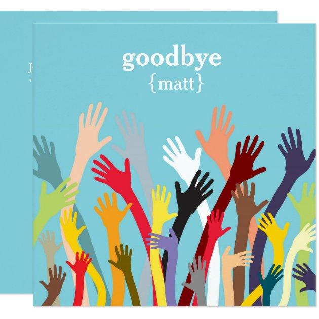 Goodbye Party Invitation is adorable invitation sample