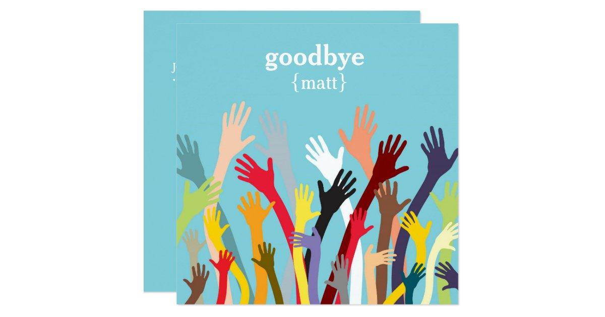 Farewell Invitations Announcements – Leaving Party Invitation Template