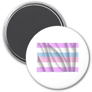 Waving intersexed pride fla refrigerator magnet