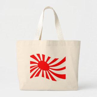 Waving Japanese Rising Sun Flag Bag