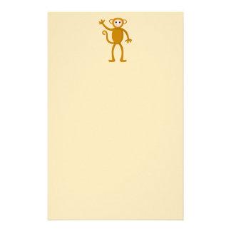 Waving Monkey. Stationery