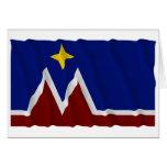 Waving Montana Flag Proposal Card
