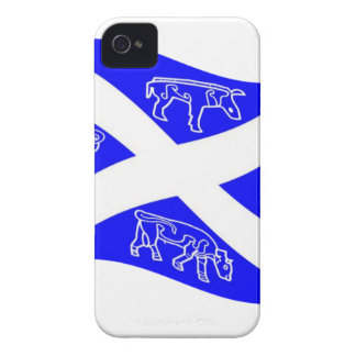 Waving Pictish Scotland Flag 2 iPhone 4 Cases